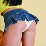 Bursa escort girl Gloria shows her best side again: her elastic buttocks are decorated with a thin strip of white panties that contribute to her image of innocence and purity; but you know something? Gloria is a dirty and naughty girl…