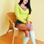 Bursa escort Gloria girl may look as a sweet good girl: just look at those white socks, which cover her slender tanned feet. Do not let it fool you, this girl is not shy, she knows what the real lust is