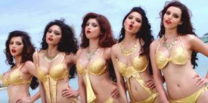 Bursa escort girls look alike each other, maybe they have been selected in a way to look as one girl made in five fiery copies
