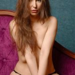 Outcall escorts Mashka is almost naked, only small pants cover her nudity