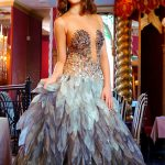 Outcall escorts Vlada wears insanely good-looking evening dress and looks more like a model