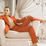 Outcall escort service girl Ksyusha is waiting for you sitting in this big white chair
